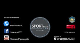 """SportPunkt - Live EXTRA mit neuem """"Hintergrund"""" und alles zum aktuellen Sport."""